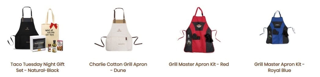 Fort Worth promotional products aprons