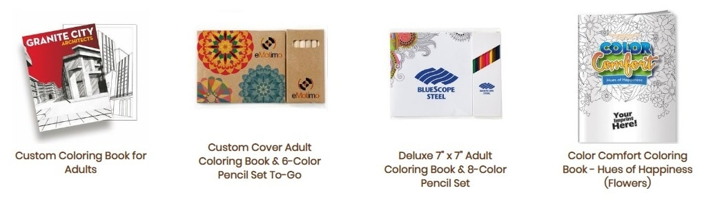 Fort Worth promotional products coloring books