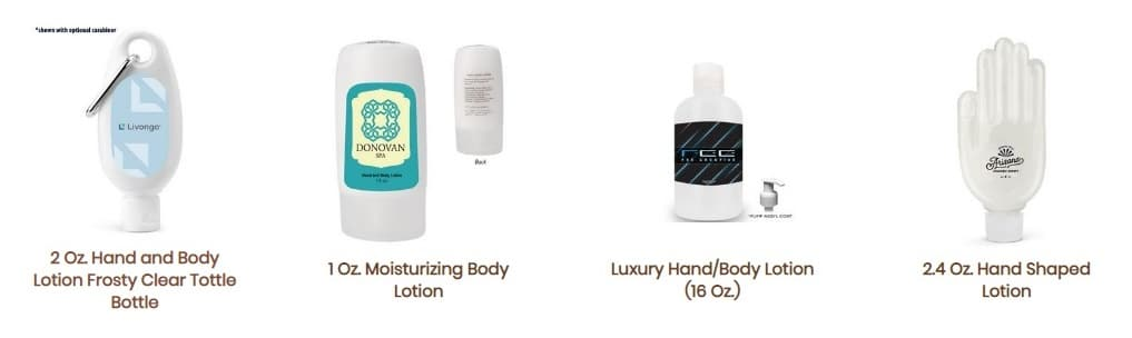 Fort Worth promotional products lotions