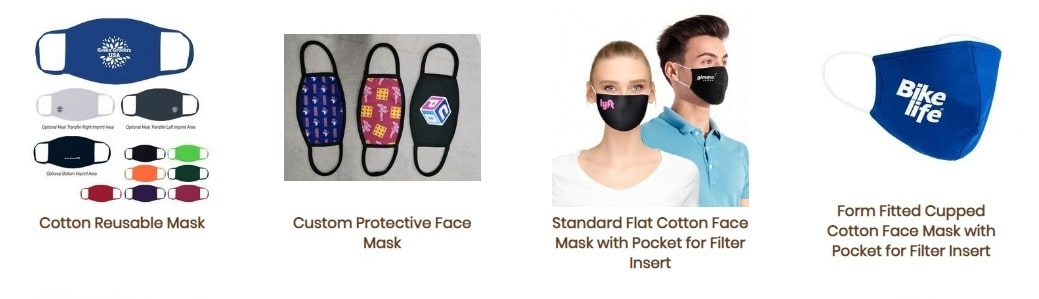 Fort Worth promotional products masks