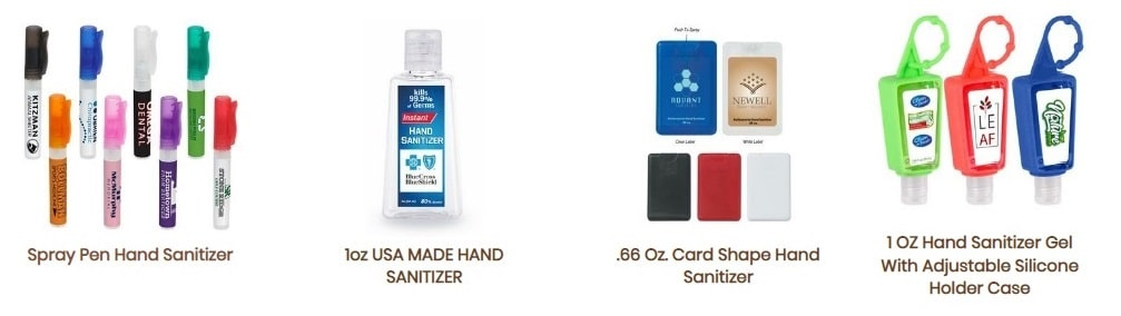Fort Worth promotional products sanitizers